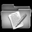 Documents Steel Folder Icon