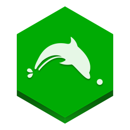 Dolphin Browser Icon Download Hex Icons Iconspedia