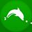 Dolphin2 flat circle-48