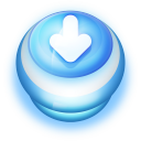 Download Blue Push Button-128