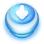 Download Blue Push Button icon