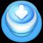 Download Blue Push Button-64