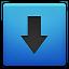 Downloads Blue icon