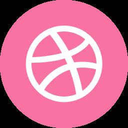 Dribbble Round
