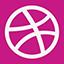 Dribble flat icon