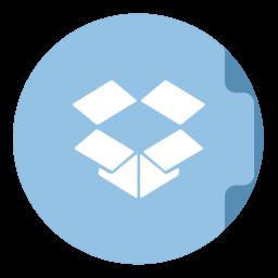 Dropbox Folder Circle