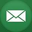 Email flat circle Icon