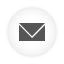 Email white round icon