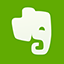 Evernote flat icon