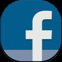 Facebook Flat Round