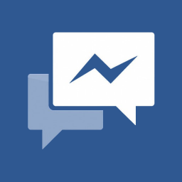 Facebook Messenger Flat Icon Download Flat Add On Icons Iconspedia