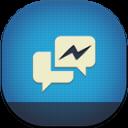 Facebook Messenger Flat Round