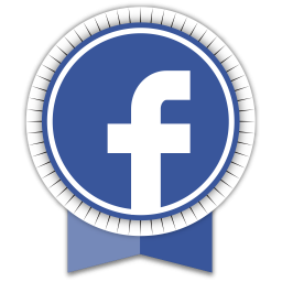 Facebook Round Ribbon
