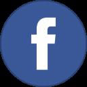 Facebook Round With Border-128