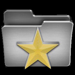 Favorites Steel Folder