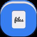 Files Alt Flat Round