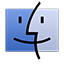 Finder iOS 7 alternative icon
