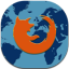 Firefox Flat Mobile icon