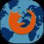 Firefox Flat Mobile Icon