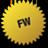 Fireworks logo Icon