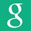 Flat Google icon