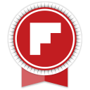 Flipboard Round Ribbon-128