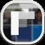 Flipboard3 Flat Round Icon
