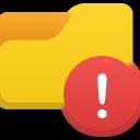 Folder Alert-128