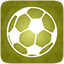 Football green icon