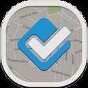 Foursquare Flat Round