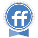 Friendfeed Round Ribbon-128