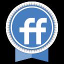 Friendfeed Round Ribbon-128