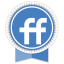 Friendfeed Round Ribbon icon