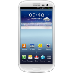 Galaxy S3 White Icon Download Smartphones Icons Iconspedia