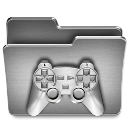 Games Steel Folder Icon Download Steel System Icons Iconspedia