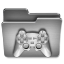 Games Steel Folder icon