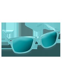 Glasses Aqua