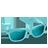 Glasses Aqua-48