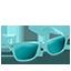 Glasses Aqua-64