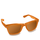 Glasses Orange-128