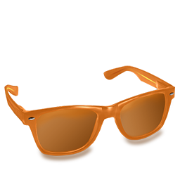 Glasses Orange