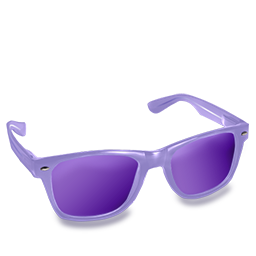 Glasses Purple