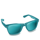 Glasses Teal-128