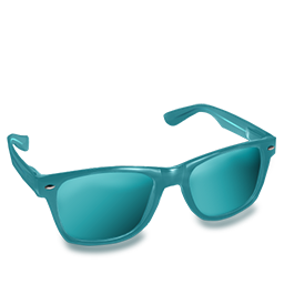 Glasses Teal