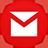 Gmail flat circle-48