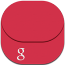 Gmail Flat Round