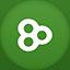 Go Launcher flat circle icon