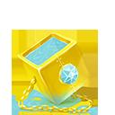 Golden cube-128