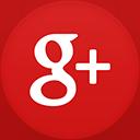 Google+ flat circle-128