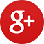 Google+ flat circle icon